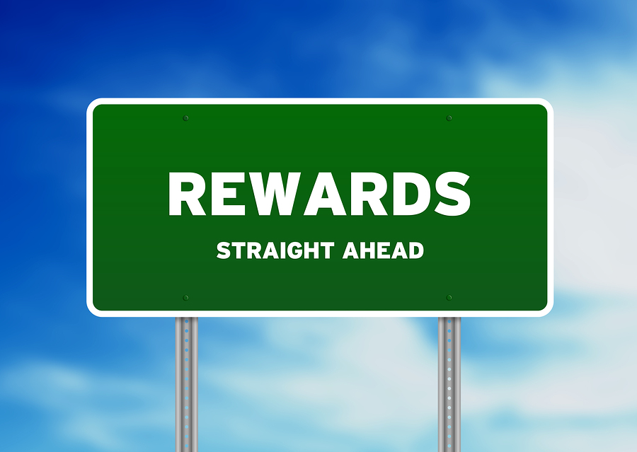 Rewards Highway  Sign